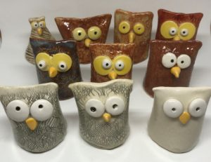 Owl Salt Shaker Collection