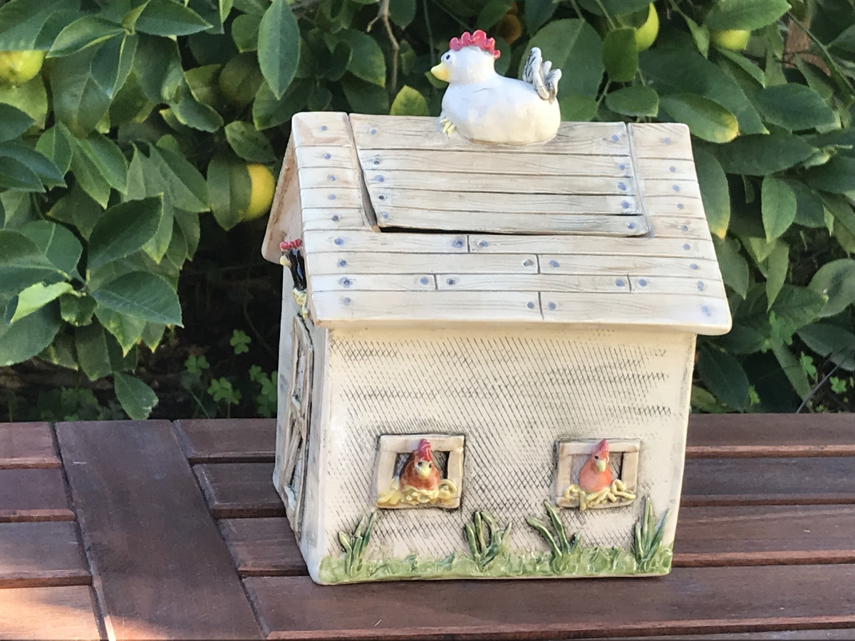 The Chicken House Cookie Jar-IMG 1145